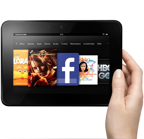 Kindle Fire HD 7-ins HD Display