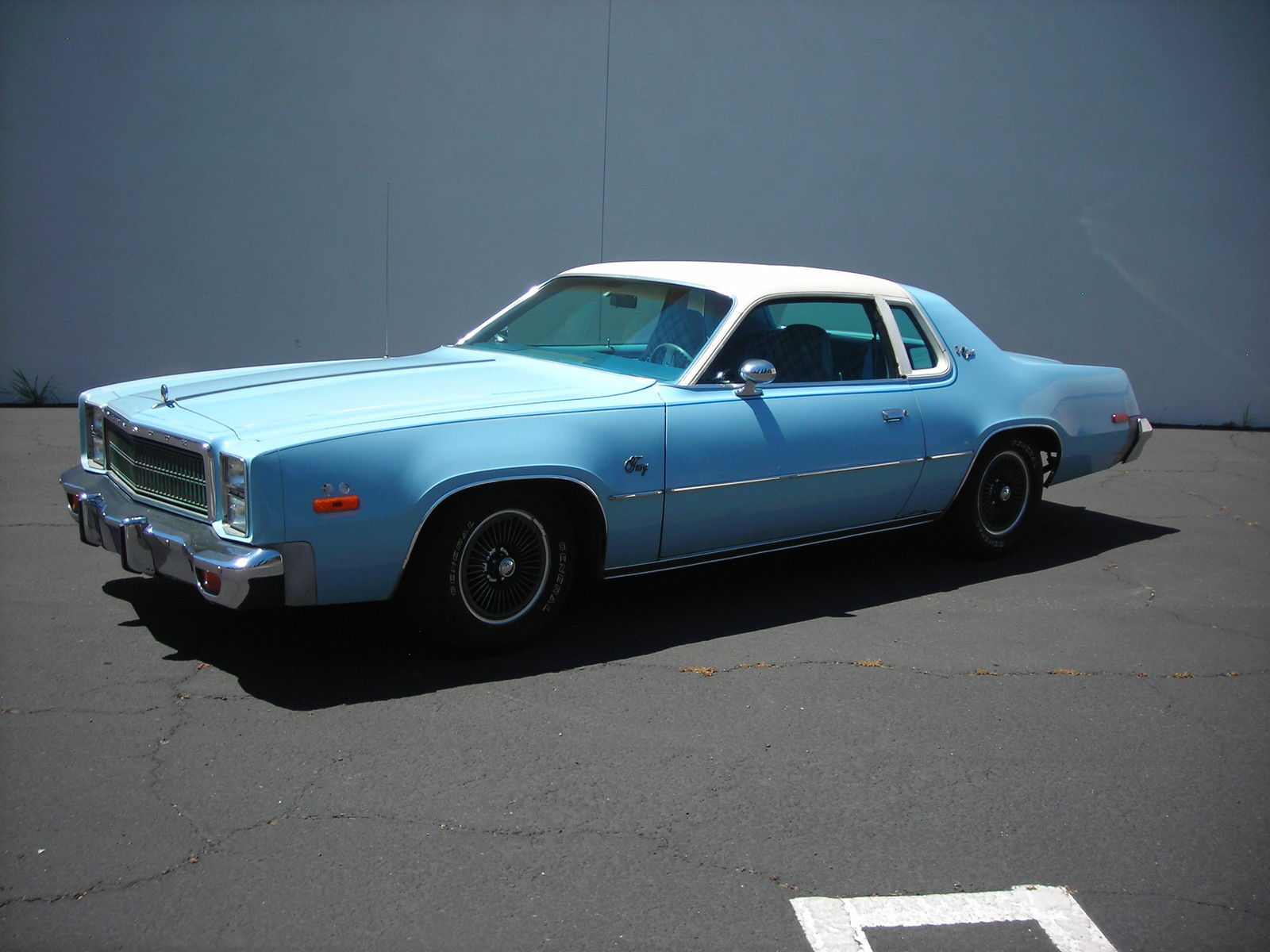 All American Classic Cars 1977 Plymouth Fury Sport 2 Door Hardtop