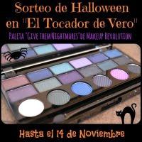 Sorteo Halloween en El Tocador de Vero