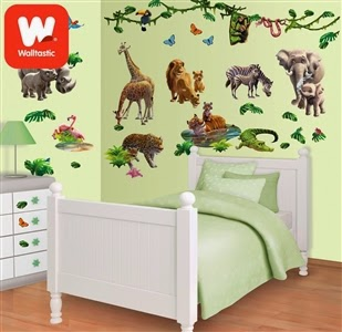 Dinosaur Land Room Décor Kit