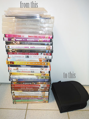 DVD organization | marlee and you