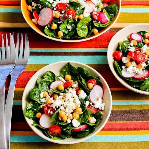 Mediterranean Feta Salad Recipe