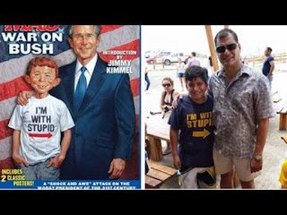 rafael correa i am with stupid