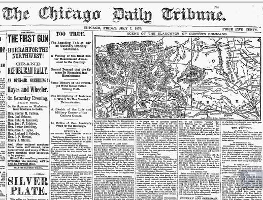 battle of little bighorn map pdf