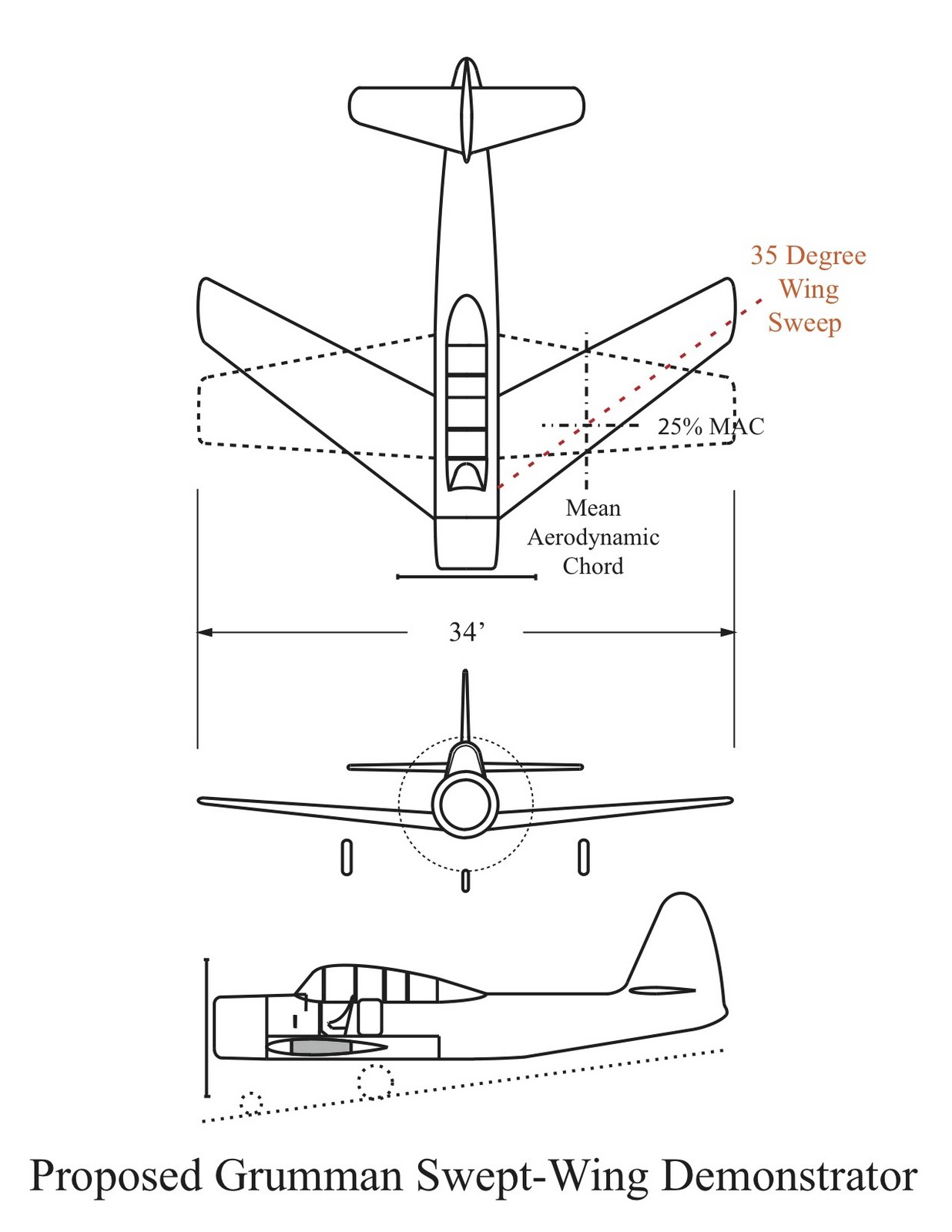 Us navy aircraft history april 2011 bell l 39 wing sweep evaluation hexwebz Choice Image
