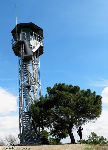 Collserola, torre de vigilancia forestal