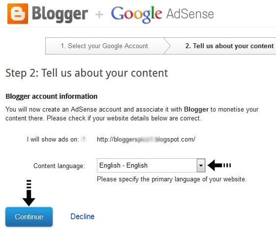 select site language