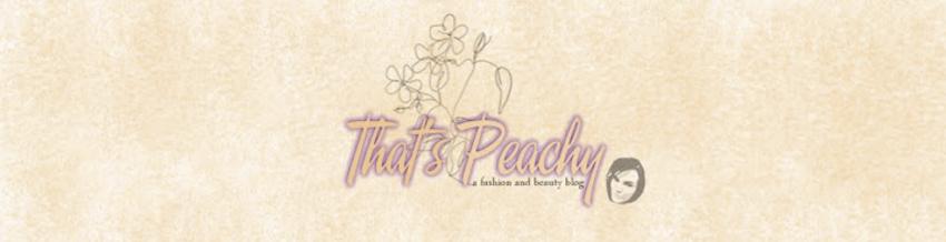 thats peachy shop