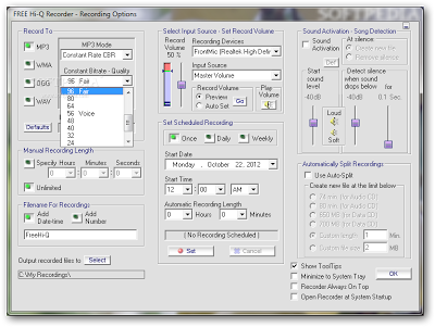 Free recording software for windows 7 | FREE Hi-Q Recorder