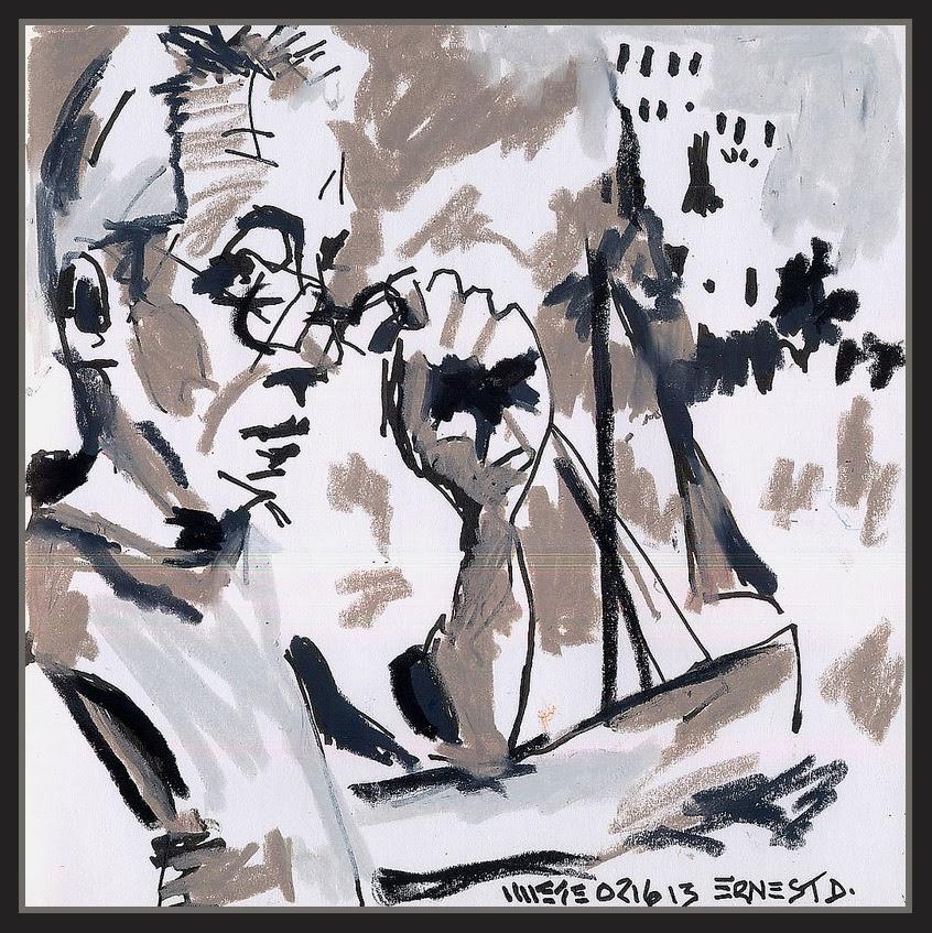 ERNEST DESCALS-PINTOR-RETRATOS-ARTISTA-JERRY WAESE