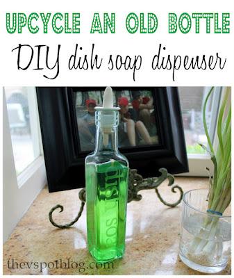 DIY Decorative Dish Soap Dispenser 40 Minute Crafts Gorgeous Decorative Dish Soap Bottles