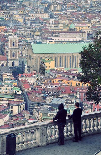 Napoli The Capital Of Italy