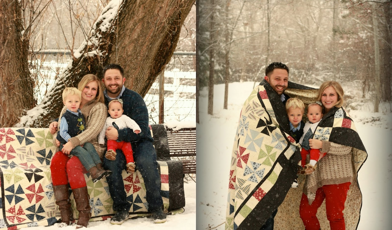 Family Photo Shoot Ideas Winter