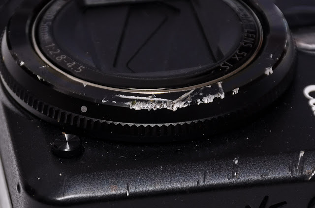 canon g12 camera damage