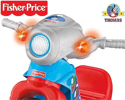 Childrens vehicle Fisher Price Thomas the Train and friends Lights and Sounds Trike toy for boys