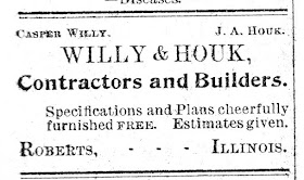 Willy & Houk 1901 ?? Ad