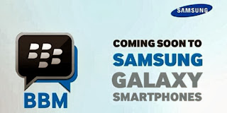 Samsung announces Scatter BlackBerry Messenger