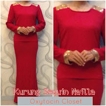Kurung Mini Sequin Nailla