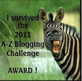 2011 A-Z Blogging Challenge Award