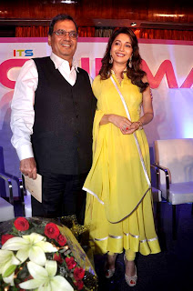 Madhuri Dixit & Subhash Ghai at Unveil of  'Its Only Cinema' magazine