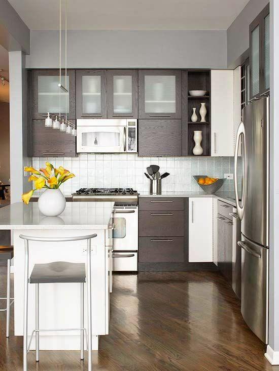 De 30 cocinas modernas pequeñas llenas de inspiración