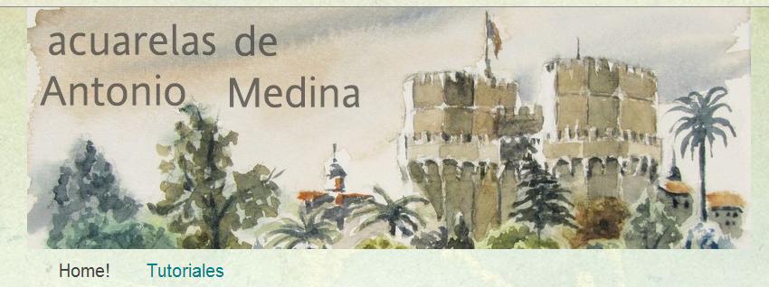 ENLLAÇ-Acuarelas de Antonio Medina.