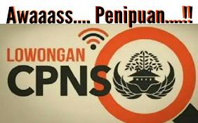 Seleksi CPNS 100% Bebas Biaya