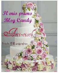 IL MIO PRIMO BLOG CANDY
