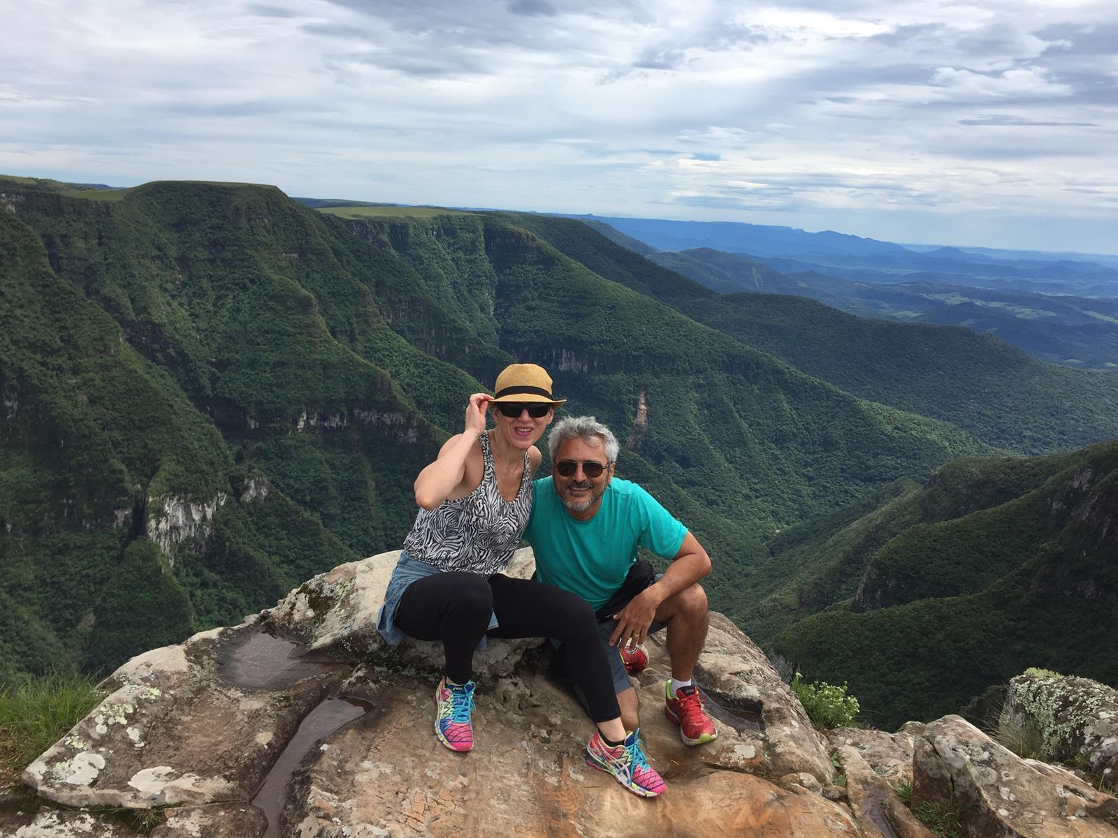 De moto nos Cânions do Sul do Brasil - 2017