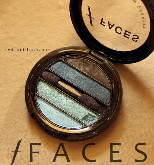 Faces I-Shine Eye Shadow Quartet Blue 2