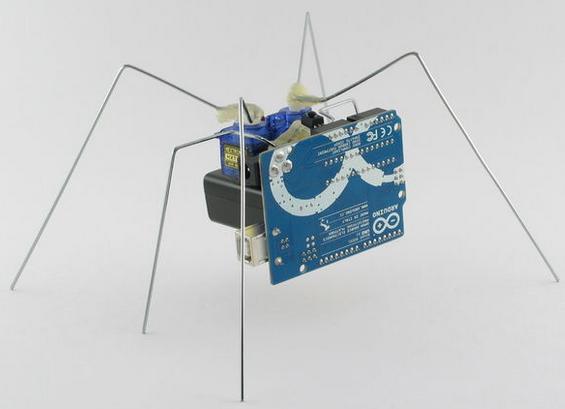 Robot dengan platform arduino uno