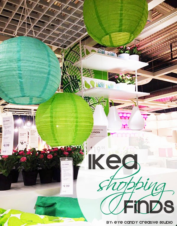 outdoor pillows, paper lanterns, pear shaped solar lights, potted plants