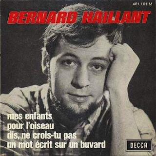 Bernard Haillant - Mes enfants (45 tours 1968)