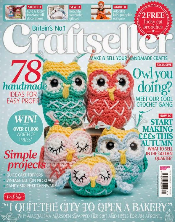 .Craftseller patterned owl family