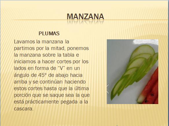 Gastronomia cortes de frutas for Cortes de verduras gastronomia pdf