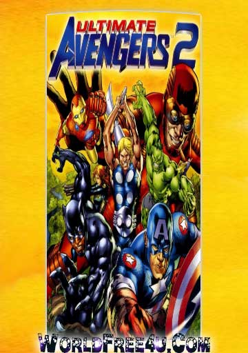 Poster Of Ultimate Avengers 2 (2006) In Hindi English Dual Audio 300MB Compressed Small Size Pc Movie Free Download Only At 300Mb.cc