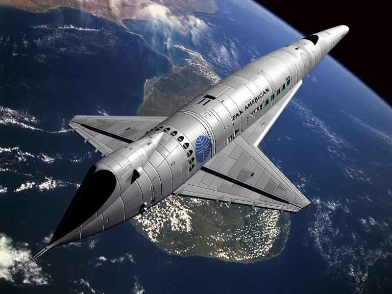 future space shuttle in orbit - photo #7