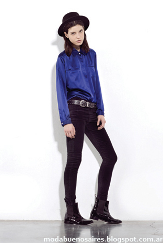Paula Cahen D'Anvers camisas invierno 2013