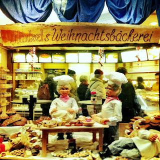 funny bakery display