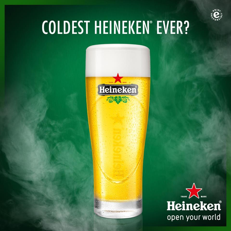 Singapore Beer - Heineken Extra Cold