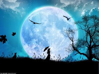 Que significa soñar con luna llena