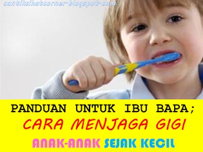 cara mencegah karies gigi