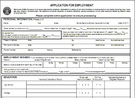 Current image for mcdonalds printable job application