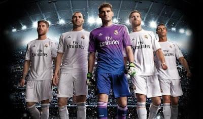 Les nouveaux maillots REal Madrid 2013-2014