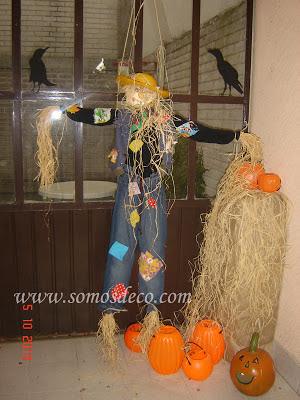 espantapájaros halloween