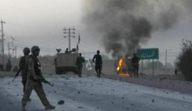 Konsulat AS di Afganistan diserang bom mobil, tiga orang tewas