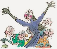 Quentin Blake, illustration for The Witches
