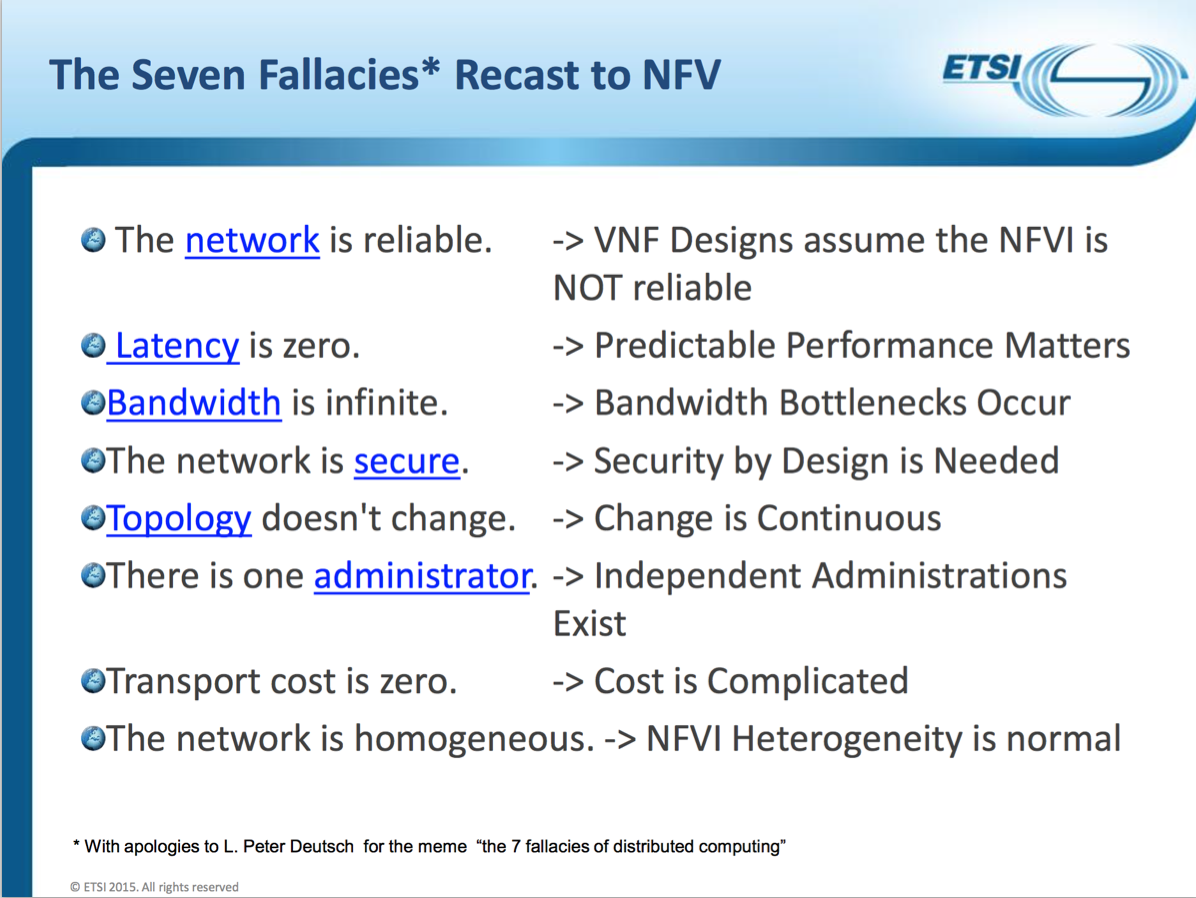 sflow demystifying nfv infrastructure hotspots the presentation describes how the fallacies of distributes computing apply to nfv highlighting the importance of effective management of network resources