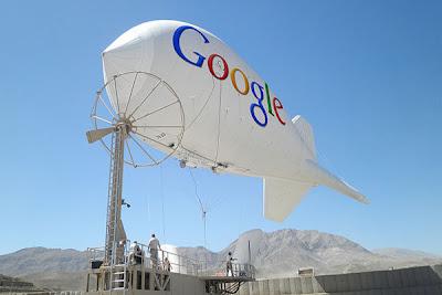 Google Ingin Pancarkan Internet dari Angkasa