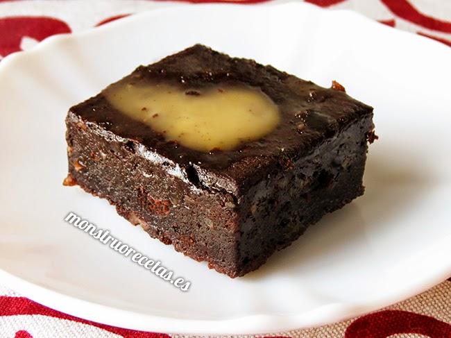 Brownie al microondas en unos minutos